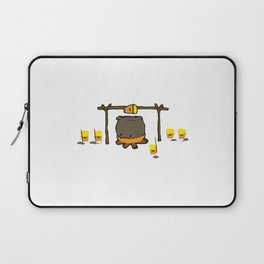 Candy Corn Cannibalism Laptop Sleeve