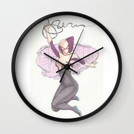 Spider Gwen City Wall Clock