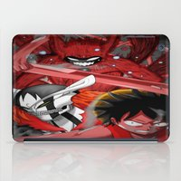 luffy iPad Cases featuring Shonen jump's best! by fangterry