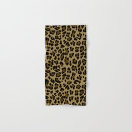 Leopard Print Pattern Hand & Bath Towel