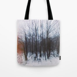 Altered Drive-By Forest Tote Bag