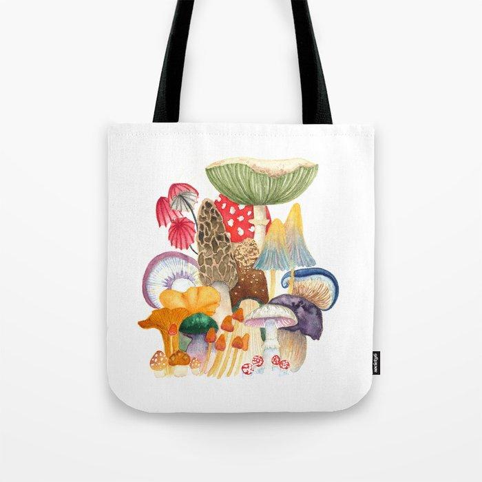 Woodland Mushroom Society Tote Bag