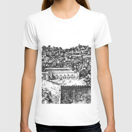 Jerusalem panorama T-shirt