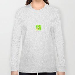 Dans jardin vert pomme Long Sleeve T-shirt