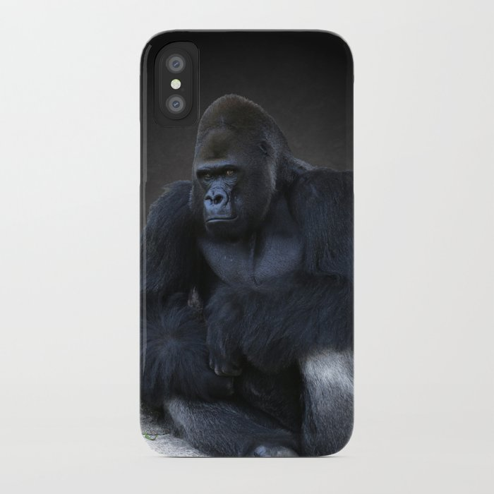 Studio Dalio - Portrait Of A Male Gorilla iPhone Case