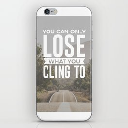 Freedom Is Letting Go iPhone Skin