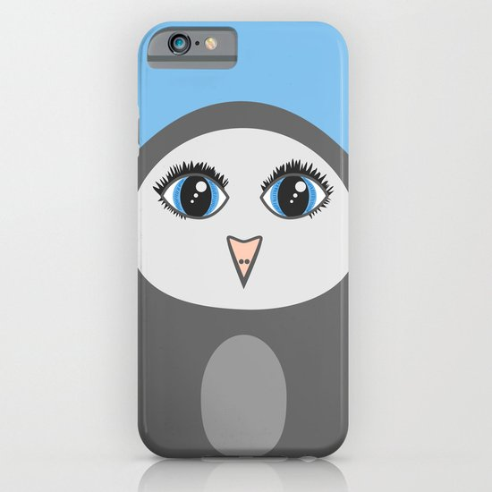 Cute Geometric Penguin iPhone & iPod Case