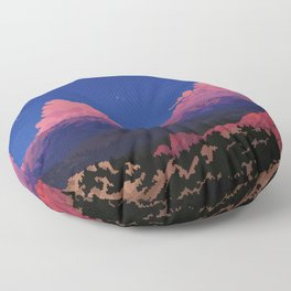 Sunset at Garden of the Gods Floor Pillow