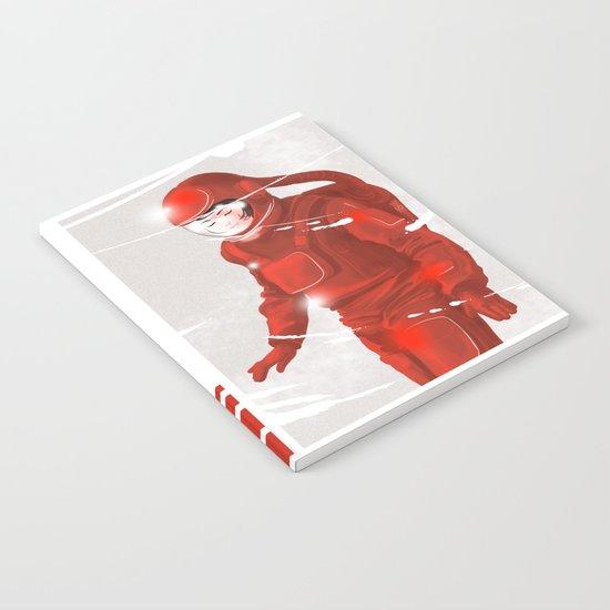 Hiroko in Storm // (astronaut girl) Notebook