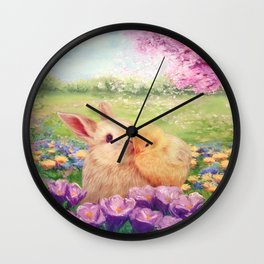 Easter Love Wall Clock