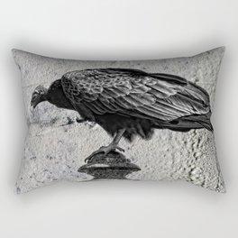 Cemetery Vulture Rectangular Pillow