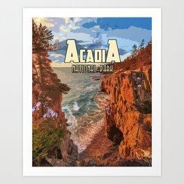 Acadia National Park at Maine Art Print