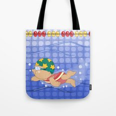 Olympic Sports: Swimming Tote Bag