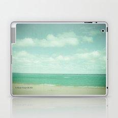 Follow Your Bliss Laptop & iPad Skin