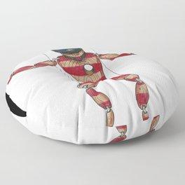 American Puppet Floor Pillow