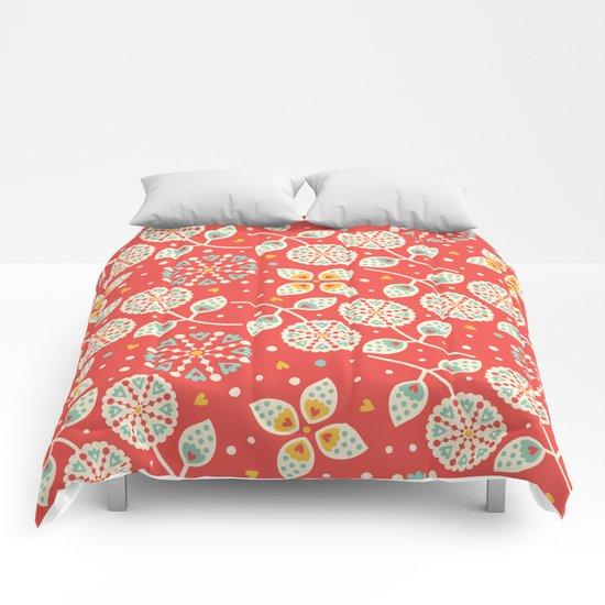 Vintage Flora Comforters