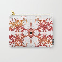 Double Tree Burning Carry-All Pouch