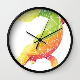 Platypus Retro Wall Clock