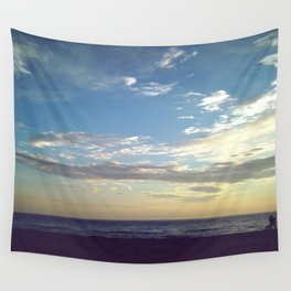 Sea Side Skies Wall Tapestry