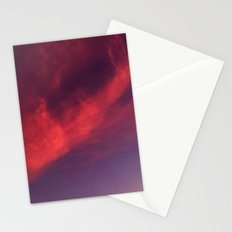 Sunrise series-Pink Fluff Stationery Cards