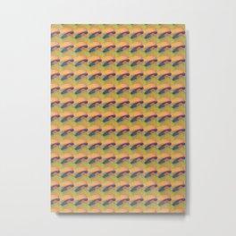 oil pastel drawing Metal Print