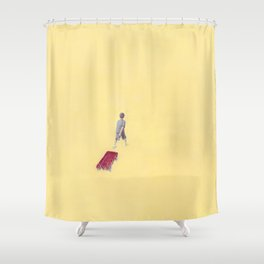 Exploring: Solitude Shower Curtain