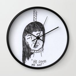 Hartbroken Harriot Wall Clock