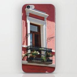 Balconies of Puebla  iPhone Skin