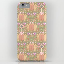 Get Out Of My Flowers You Idiot Birds iPhone Case