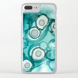 Petri Sea Clear iPhone Case