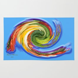 The whirl of life, W1.9C Rug