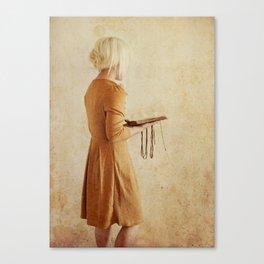 Secret Book 2 Canvas Print