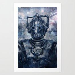 Cybermen Doctor Who Art Print