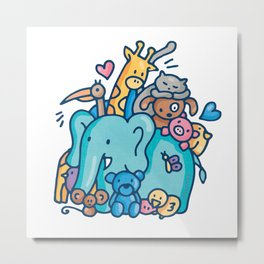 animal lover Metal Print