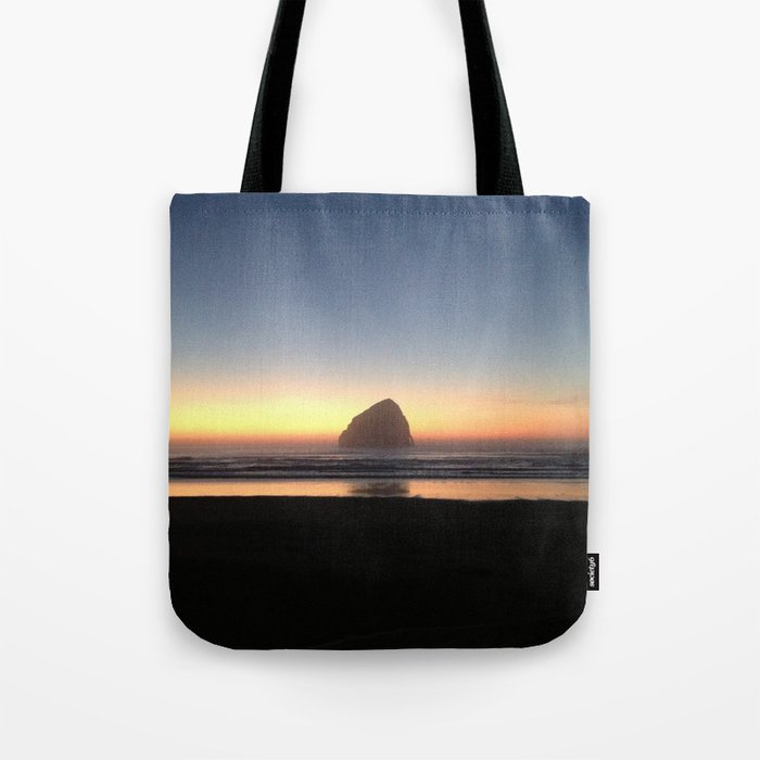 Sunset over the Pacific Tote Bag