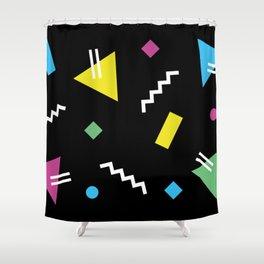 Memphis pattern 62 - 80s / 90s Retro Shower Curtain
