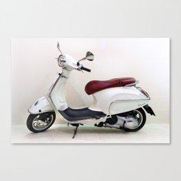 Vespa Motorbike Canvas Print