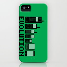 Cell Phone Evolution iPhone Case