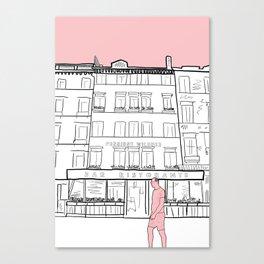 Street Scenes of Venice Canvas Print