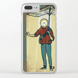 Feed Your Light Clear iPhone Case