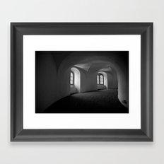 Inside the Round Tower Framed Art Print