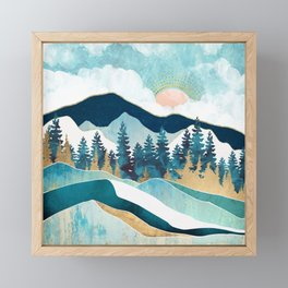 Summer Forest Framed Mini Art Print