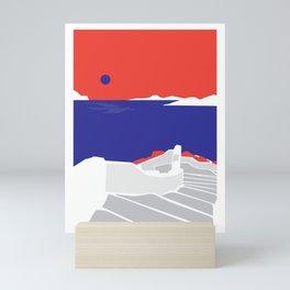 Mediterranean Sunset Mini Art Print