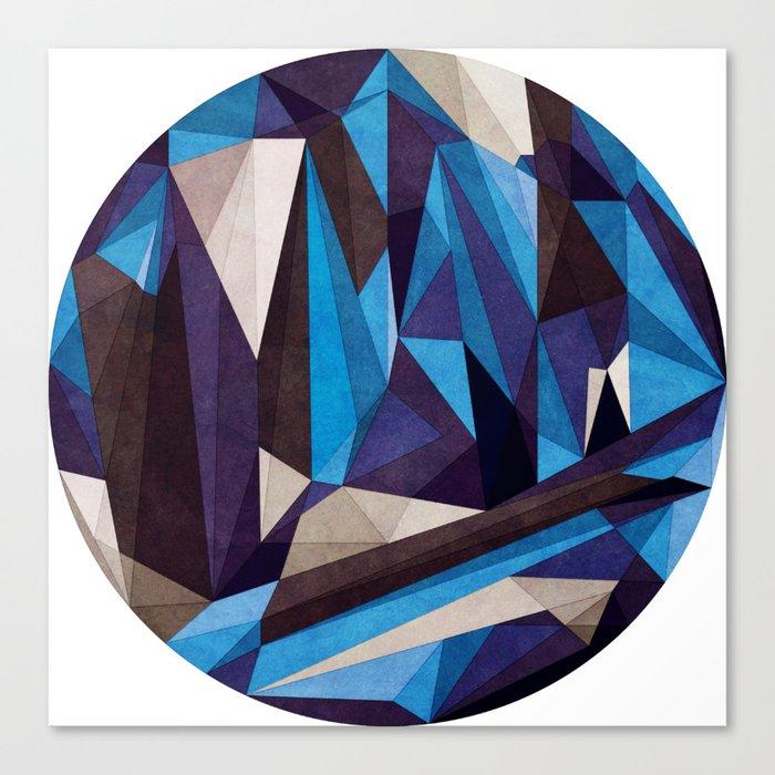 Blue Something Canvas Print