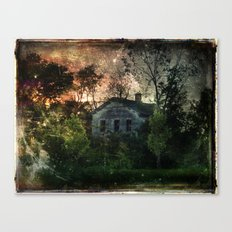 The Ghost House Canvas Print