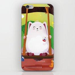 The Eyez - Fat Rabbit iPhone Skin