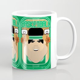 Basketball Green - Court Dunkdribbler - Victor version Coffee Mug