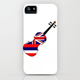 Hawaii State Fiddle iPhone Case