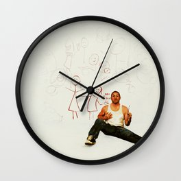 Yeah, well, Gab and Em say I'm awesome. Wall Clock