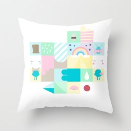 For Japan with love 3 Throw Pillow